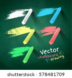 vector collection of hand drawn ... | Shutterstock .eps vector #578481709