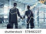 nice to meet you partner .... | Shutterstock . vector #578482237