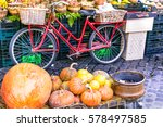local fruit market with old...