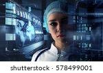 innovative technologies in...   Shutterstock . vector #578499001