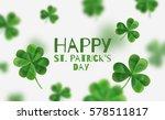 Modern Flyer For St. Patrick's...