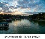 Texas Lake Sunset
