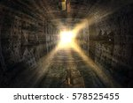 isolated close up interior of... | Shutterstock . vector #578525455