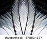 reworked photo of hi tech... | Shutterstock . vector #578534197
