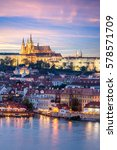 Prague Castle And Mala Strana...