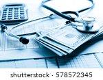 health insurance application... | Shutterstock . vector #578572345
