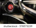 engine start stop button | Shutterstock . vector #578573239