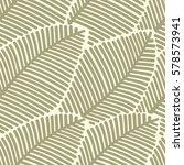 seamless leaf pattern....   Shutterstock .eps vector #578573941