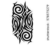 tribal designs. tribal tattoos. ... | Shutterstock .eps vector #578575279