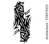 tribal designs. tribal tattoos. ... | Shutterstock .eps vector #578575315