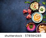 Colorful Hummus Bowls...