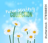 new spring collection design....   Shutterstock .eps vector #578588854