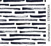 dry brush stripe pattern | Shutterstock .eps vector #578593144