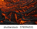 Small photo of Lava Detail