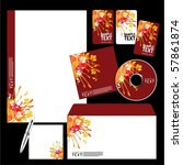 vector template background   Shutterstock .eps vector #57861874