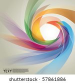 vector abstract background | Shutterstock .eps vector #57861886