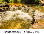 Thermal River In Forest ...