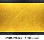 brushed golden texture | Shutterstock . vector #57863260