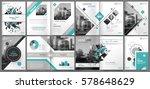 abstract binder art. white a4... | Shutterstock .eps vector #578648629