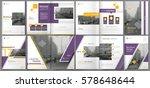 abstract binder art. white a4... | Shutterstock .eps vector #578648644