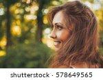 Portrait Of A Cute Smiling Gir...