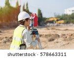 land survey and asian civil...   Shutterstock . vector #578663311