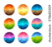 Isolated Abstract Colorful...