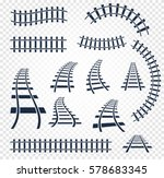 Isolated Curvy And Straight...