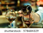 Red Wine Pouring Into A - Fine Art prints
