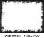 grunge frame. vector...   Shutterstock .eps vector #578696929