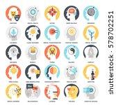 modern flat vector illustration ... | Shutterstock .eps vector #578702251