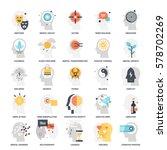 modern flat vector illustration ... | Shutterstock .eps vector #578702269