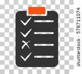 task list icon. vector... | Shutterstock .eps vector #578711074