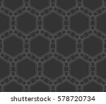 ornamental seamless pattern.... | Shutterstock .eps vector #578720734