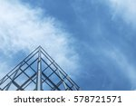structure of steel  for... | Shutterstock . vector #578721571