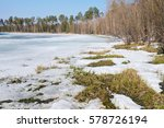 Spring Landscape With Thawed On ...
