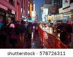 new york  ny   march 14  2016 ... | Shutterstock . vector #578726311