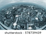 network connection concept...   Shutterstock . vector #578739439