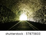 Light At The End Of Railroad...