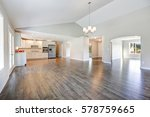 spacious rambler home interior... | Shutterstock . vector #578759665