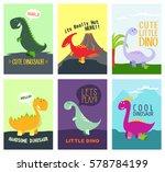 dinosaur cute t shirt graphics... | Shutterstock .eps vector #578784199