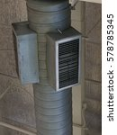 Small photo of Air duct in the mall