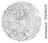 distress overlay tyre trace... | Shutterstock .eps vector #578789155