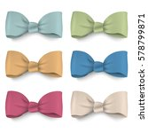 collection pastel colors silk... | Shutterstock .eps vector #578799871