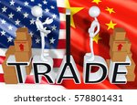 trade law legal concept with... | Shutterstock . vector #578801431