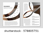 abstract vector layout... | Shutterstock .eps vector #578805751