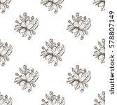 seamless pattern of apple... | Shutterstock .eps vector #578807149