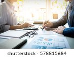 business man financial... | Shutterstock . vector #578815684