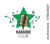 vector logo karaoke | Shutterstock .eps vector #578818669