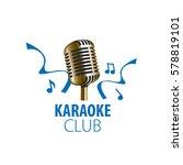 vector logo karaoke | Shutterstock .eps vector #578819101